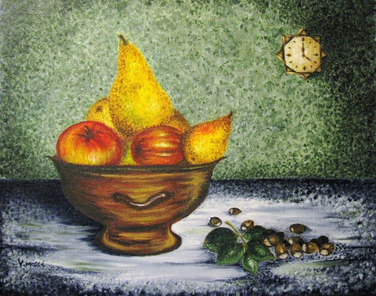 Des pommes, des poires et des ... noisettes - Avril 2010