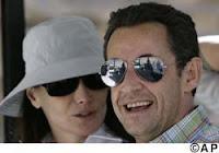 M. et Mme Sarkozy