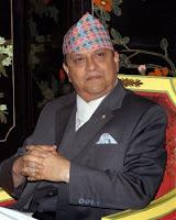 le roi Gyanendra