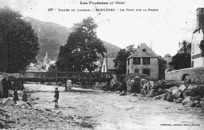 carte postale Bordères