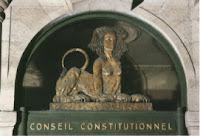 Sphynx du Conseil constitutionnel