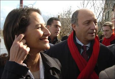 Marie-Ségolène et Laurent