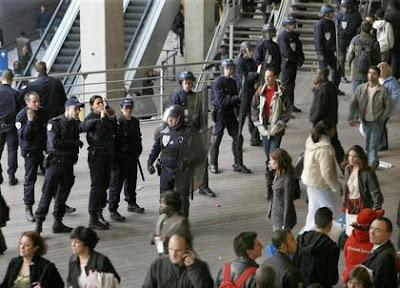 gare du Nord, mars 2007