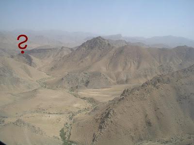 montagnes afghanes