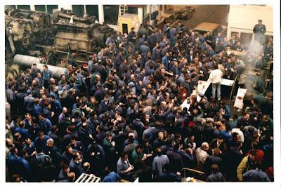 atelier SNCF en grève