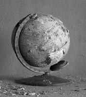 globe en ruine