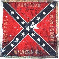 vieux drapeau confédéré