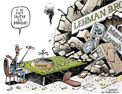 chute de Lehman Bros