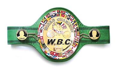 ceinture d'or de la WBC