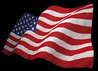 drapeau américain hampe inversée