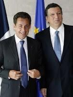 MM. Sarkosy et Barroso