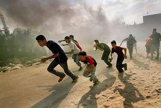 rush à Gaza
