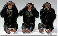 les 3 singes sages