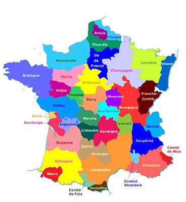 provinces de F.