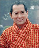 le roi du bhoutan