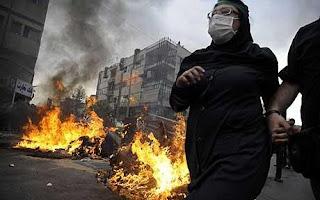 émeutes à Téhéran