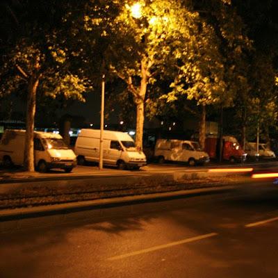 parc de camionettes