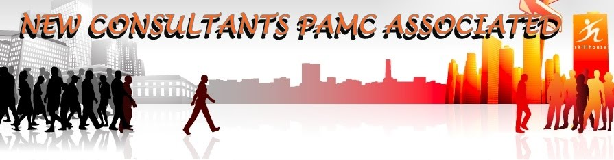 """NEW CONSULTANTS  PAMC ASSOCIATED CONSULTANTS"""