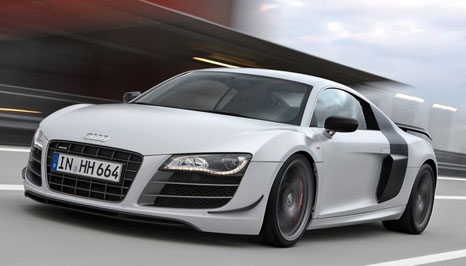 audi r8 gt 1 Audi R8 GT: lighter and more powerful