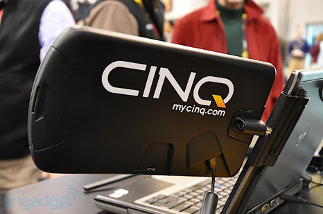 cinq 6 CINQ: additional monitors to your notebook