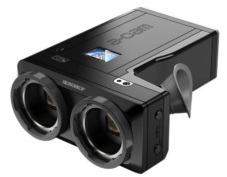 Ikonoskop A-cam3D: 3D camcorder with full HD format