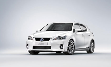 lexus ct200h 2 Lexus CT200h: The first hybrid car from Lexus