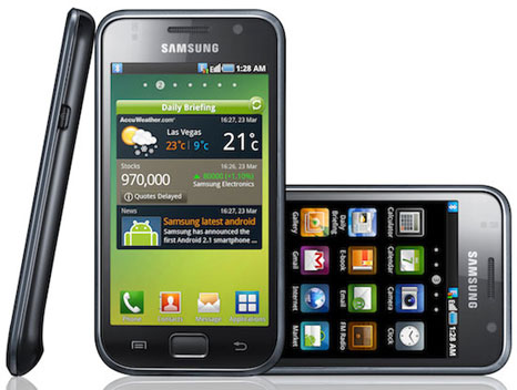 samsung galaxy s 1 Samsung Galaxy S: Another Android cell phone from Samsung