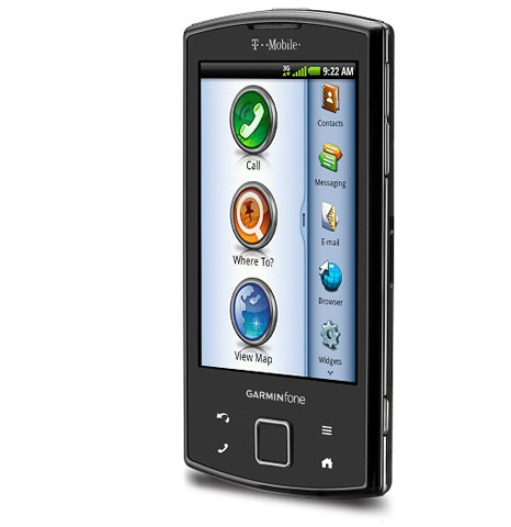 Phone from Garmin with Android OS