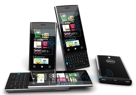 Dell Lightning: Twin of the Dell Thunder with Windows Phone 7 OS and QWERTY