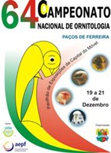 CAMPEONATO NACIONAL DE ORNITOLOGIA DE PAÇOS DE FERREIRA