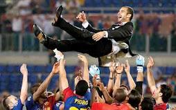 Barcelona Klub Pertama Spanyol yang Sukses Rebut Treble Winners