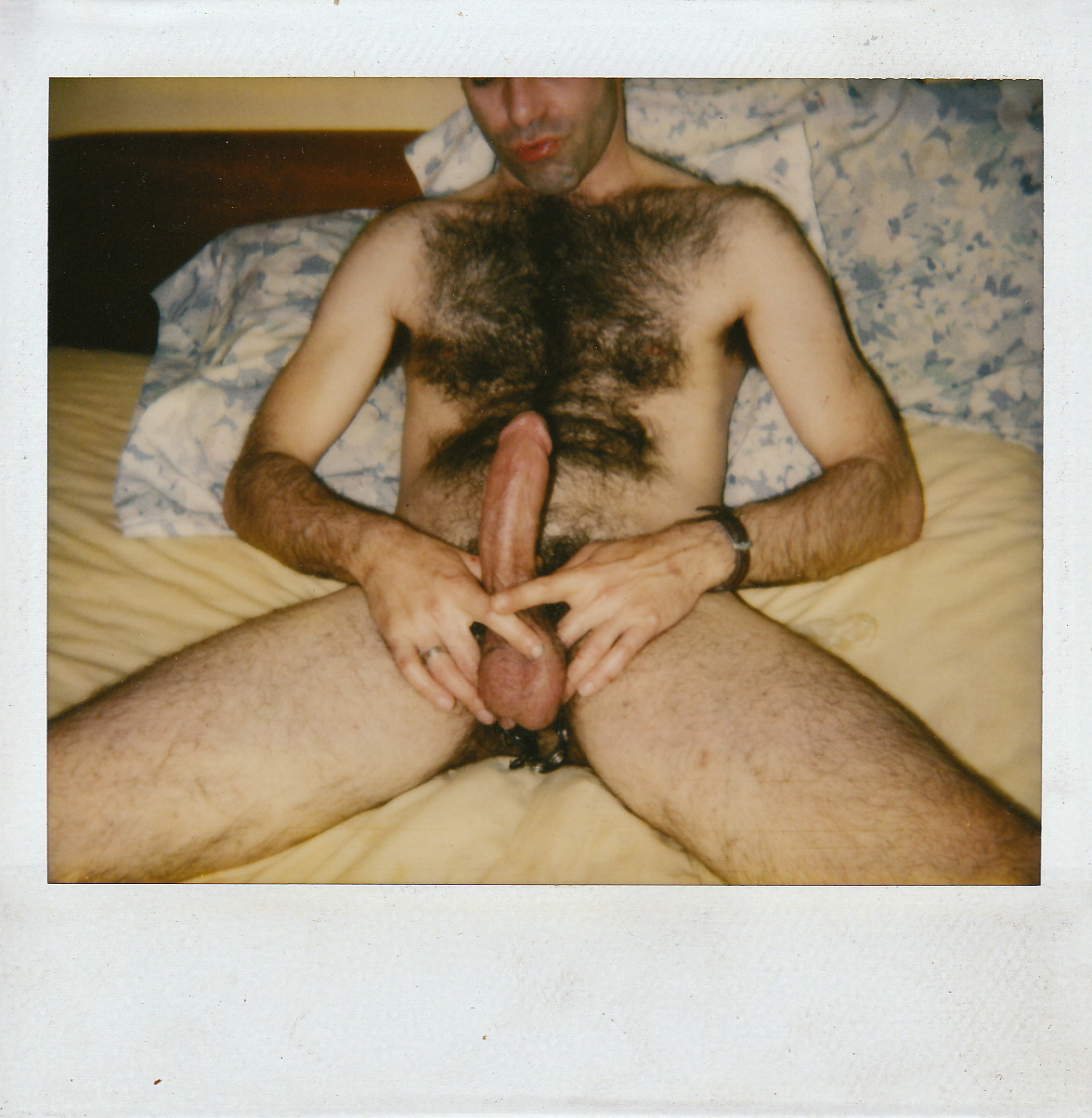 Vintage Hairy Chest