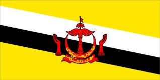 Gambar Bendera Negara Brunei Darussalam