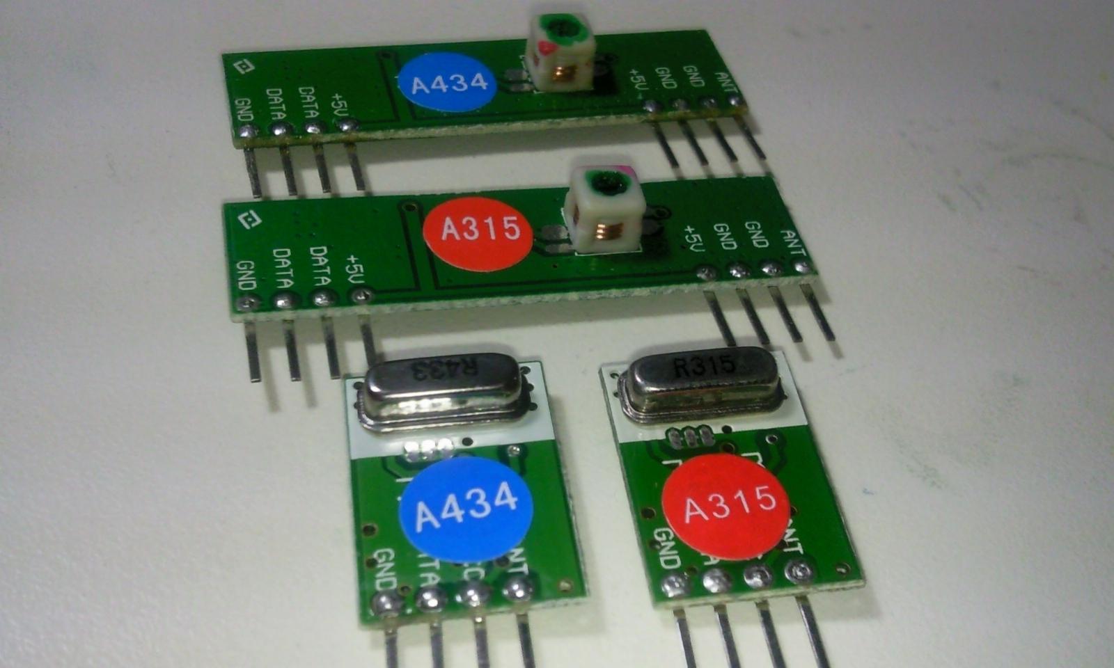 RF 434MHz ASK Transmitter and Receiver arduinolabnet