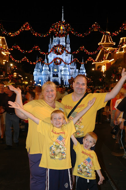 Our family WDW 2008