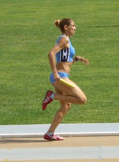 Barbara Ferrarini nella 4x400