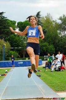 Barbara Lah nel salto in lungo