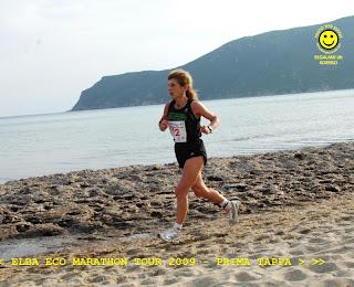 Isabella Giudia alla Eco Marathon