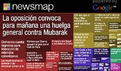 Mapa de noticias