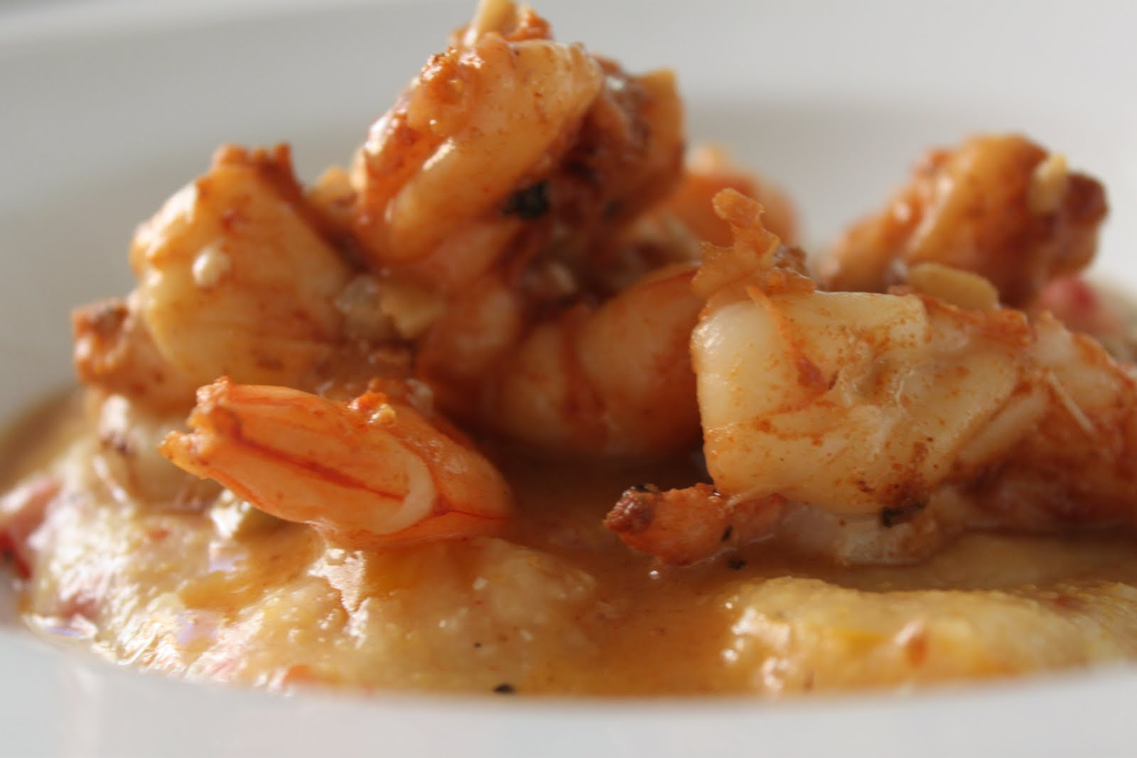 Simple Shrimp And Grits Recipe — Dishmaps