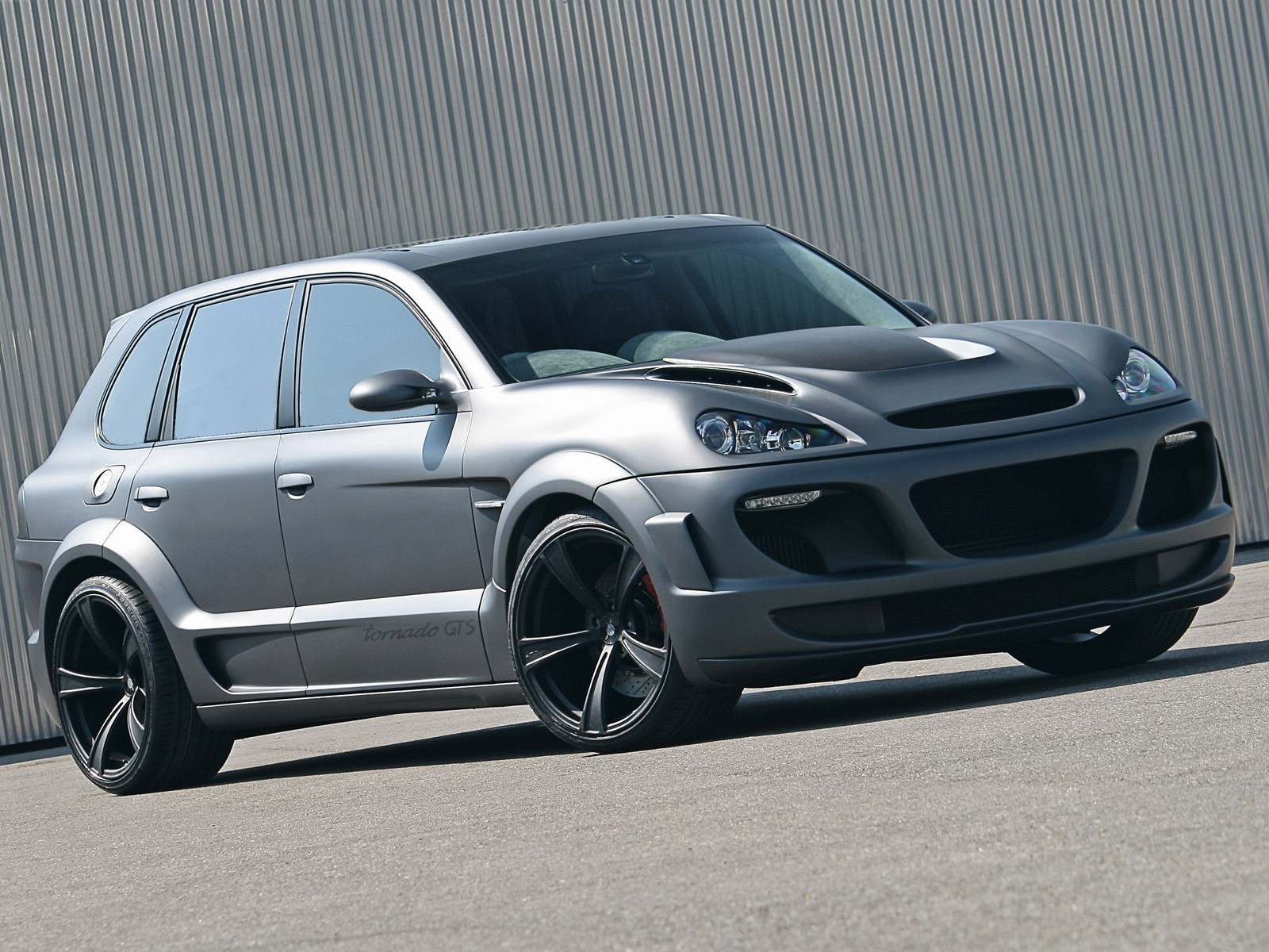 porsche cayenne turbo tuning hd wall wall box. Black Bedroom Furniture Sets. Home Design Ideas