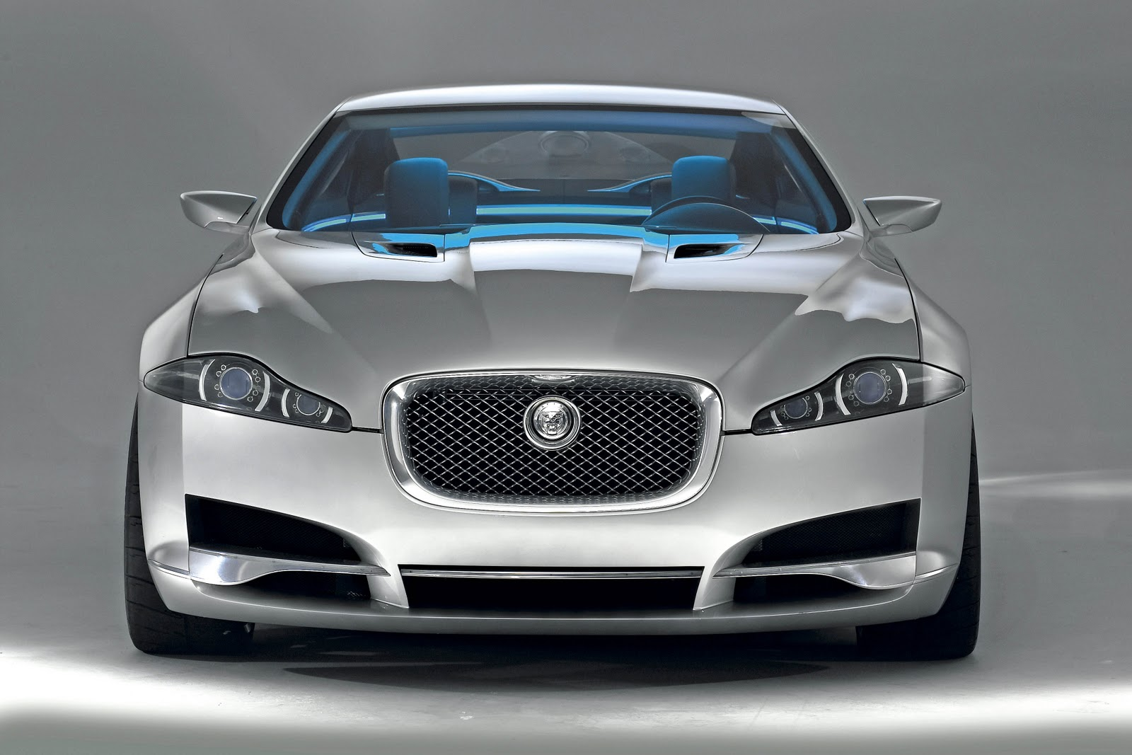 Jaguar Xj Front View HD Wallpaper. Manufacturers : Cars, Jaguar