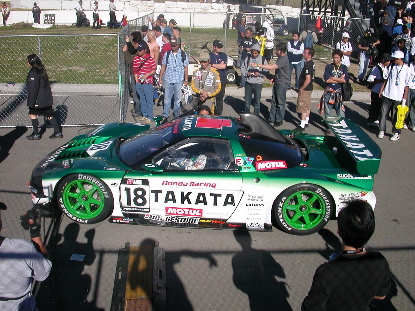 Jgtc 2004 Takata Nsx