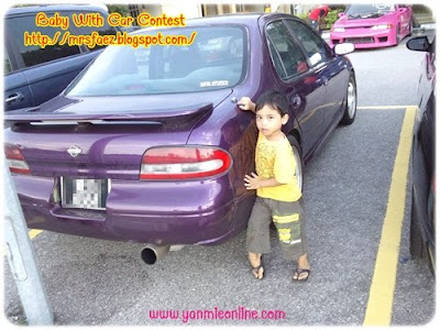 aimankontes Baby With Car Contest