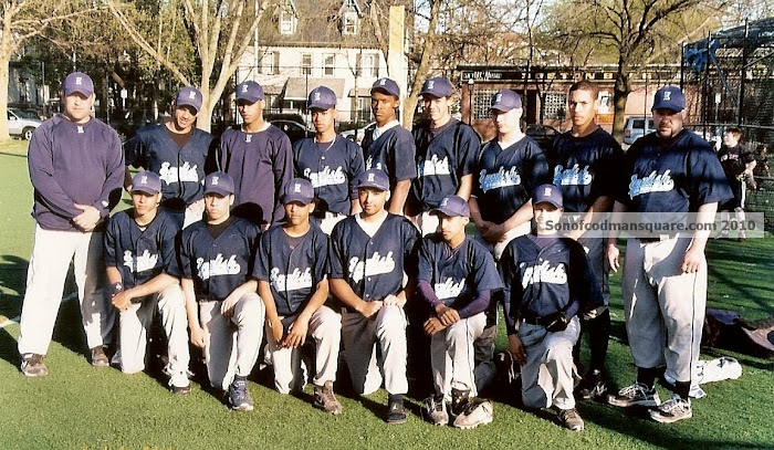 The Boston English High Baseball Team 2010