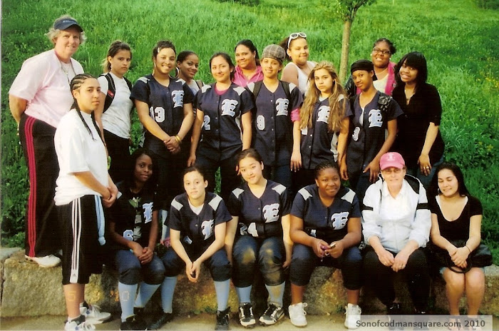 2010 Boston English High School Softball Team!