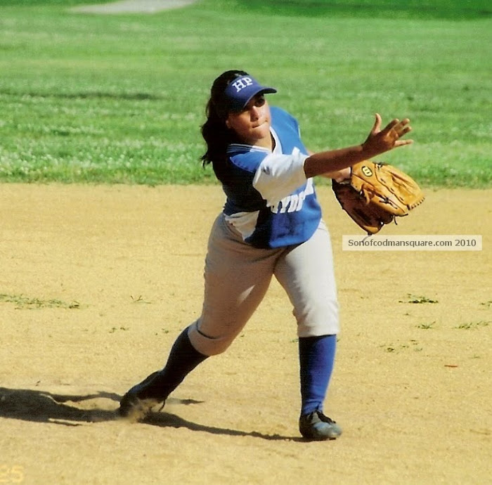 Hyde Park Softball Pitcher