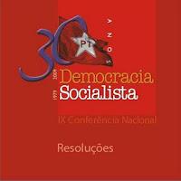 Resoluções da Democracia Socialista