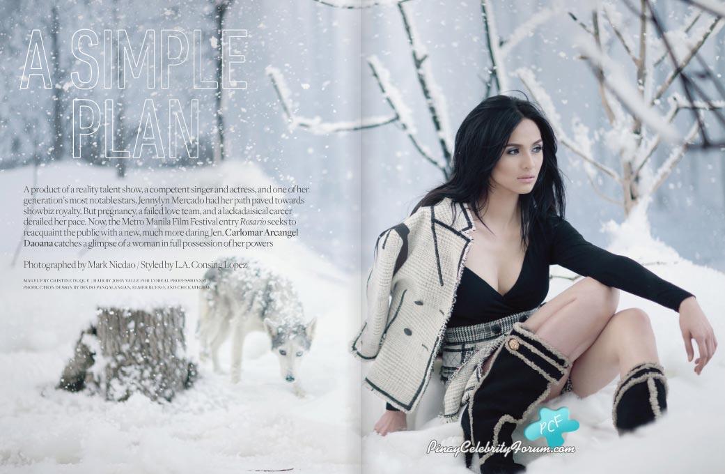 Jennylyn Mercado On Rogue November 2010 Issue
