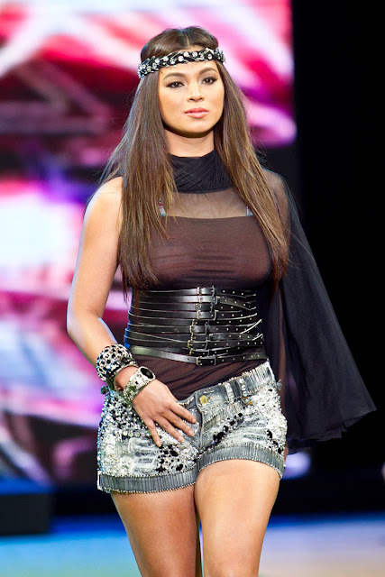 Angel Locsin on Folded and Hung fashion show